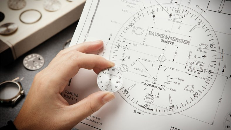 Baume & Mercier's Design Studio