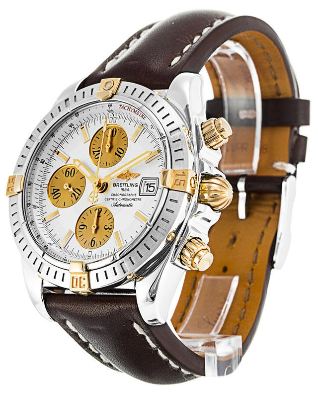 Breitling Chronomat Brown Leather Copy Watches