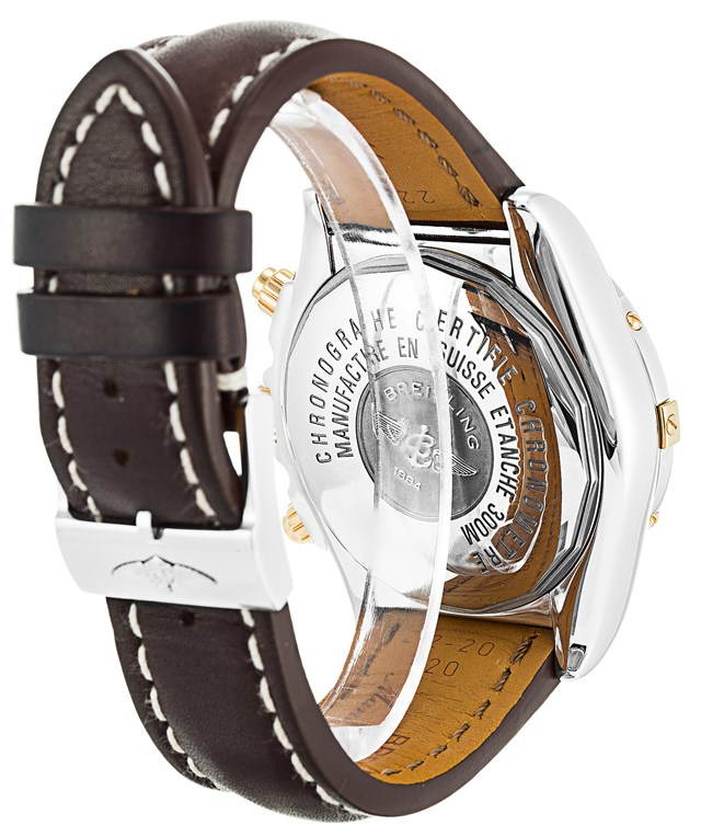 Replica Breitling Chronomat Brown Leather Watches