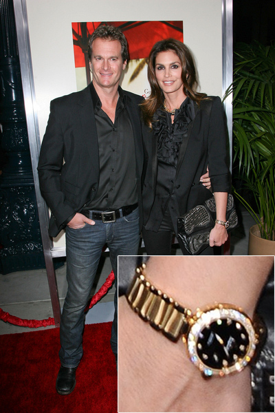 cindy crawford,omega,lady deville,replica,watch