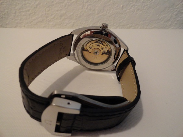 Omega Master Fake Watch Photo Review Back