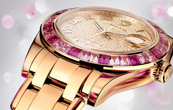Rolex Oyster Perpetual Date-just Pearl-master Replica Watches