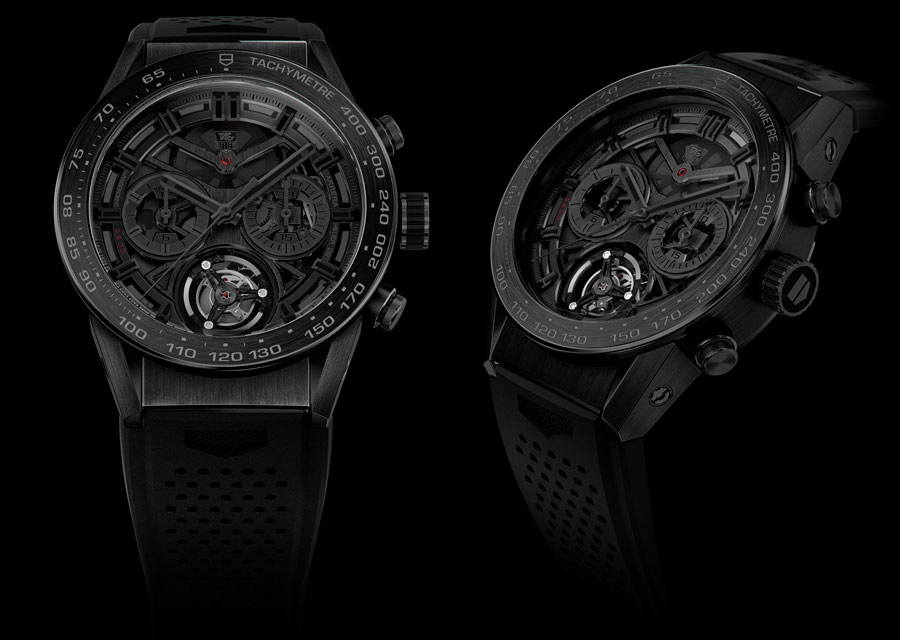 TAG Heuer Carrera Heuer-02T Black Phantom