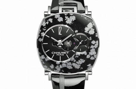 Chaumet Dandy Arty Open Face Obsidienne Neigeuse