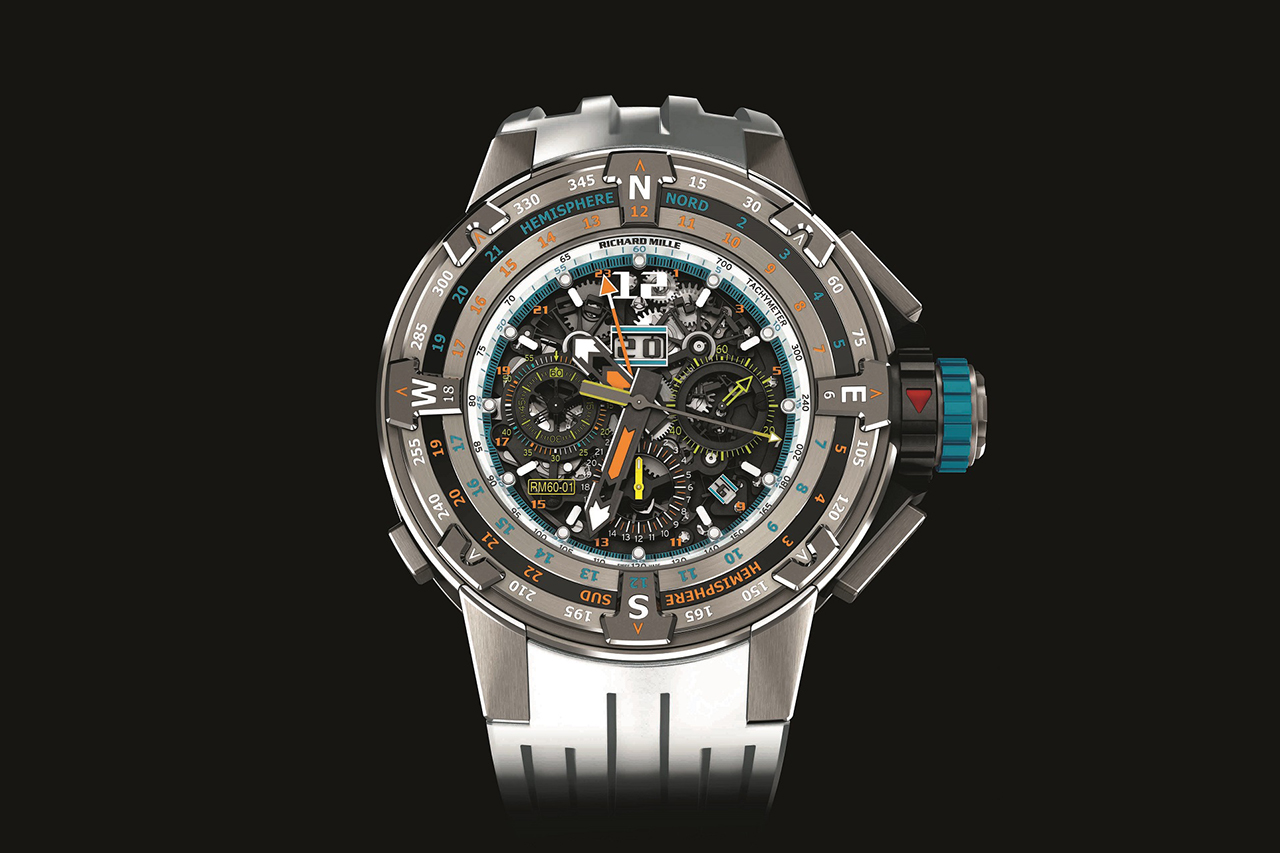 richard mille rm 60-01 automatic flyback chronograph regatta