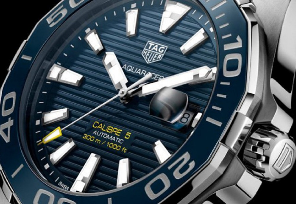 43mm Ceramic TAG Heuer Aquaracer 300m Automatic Caliber 5
